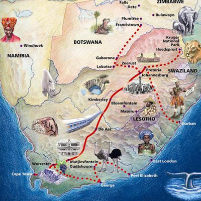 Blue Train South Africa | Luxury Train Reservations & Fares